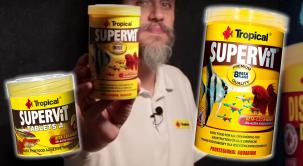 SUPERVIT, la escama PREMIUM de TROPICAL