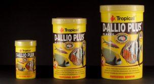 D-ALLIO PLUS un alimento multicomplemental en escamas con ajo.